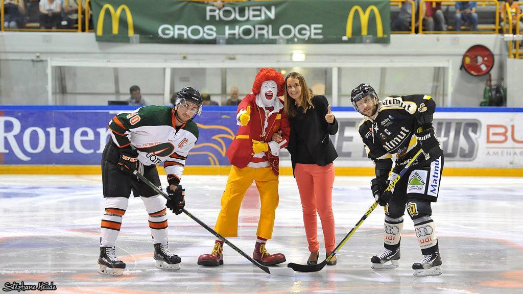 Match de hockey - gala d'anniversaire McDonald's Rouen