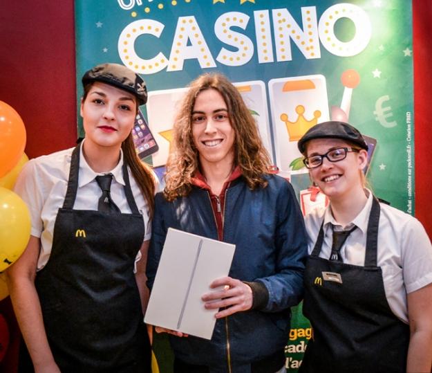 Casino McDonald's : Enzo a remporté un iPad !