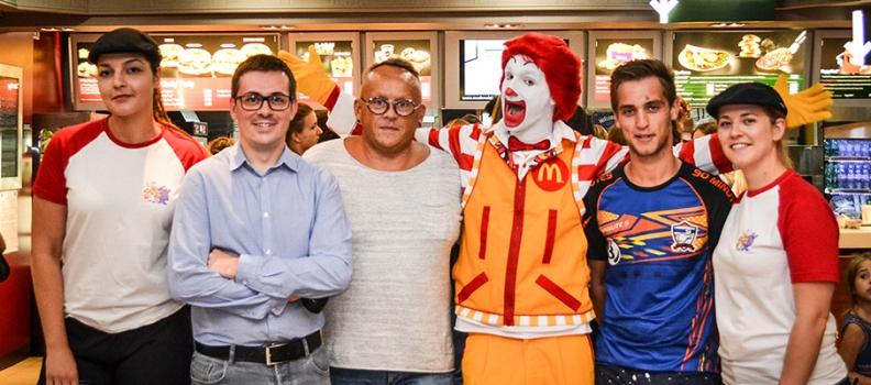 Tirage au sort McDonald's : trois heureux gagnants !